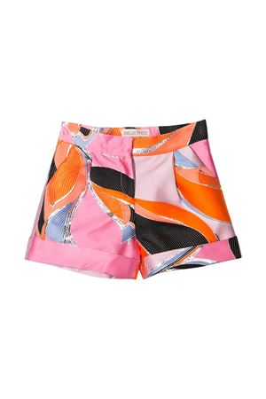 Shorts teen multicolor Emilio Pucci Junior EMILIO PUCCI JUNIOR | 30 | 9M6009MD840415T