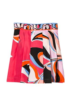 Multicolor teen skirt Emilio Pucci Junior EMILIO PUCCI JUNIOR | 15 | 9M7000MD780415CET