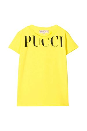 T-shirt gialla Emilio Pucci junior EMILIO PUCCI JUNIOR | 8 | 9M8001MX170200