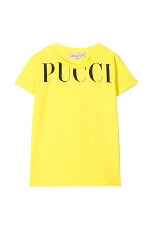 T-shirt gialla Emilio Pucci junior teen EMILIO PUCCI JUNIOR   8   9M8001MX170200T