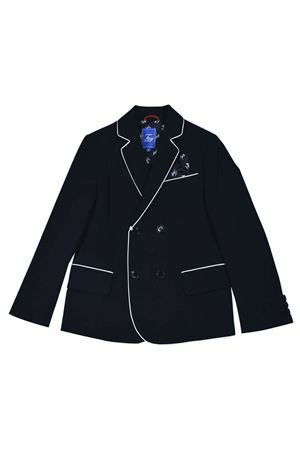 Blue teen blazer with white details Fay kids FAY KIDS | 5032278 | 5M2034MD070621T