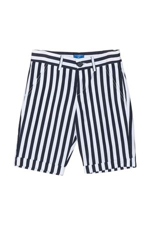 Shorts a righe bianche e blu Fay kids teen FAY KIDS | 5 | 5M6159MD680100BLT