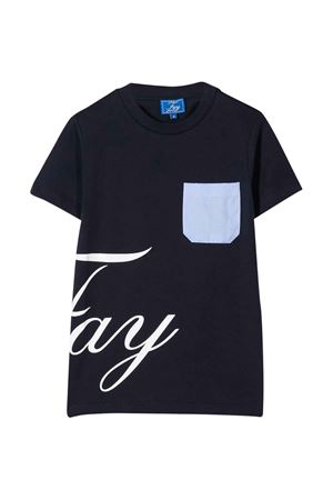 T-shirt blu Fay kids teen FAY KIDS | 8 | 5M8061MX040621T