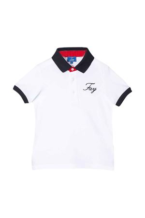 White polo Fay kids teen  FAY KIDS | 2 | 5M8091MX010100T