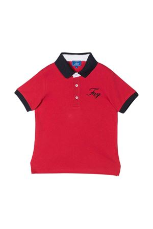 Red polo Fay kids teen  FAY KIDS | 2 | 5M8091MX010414T