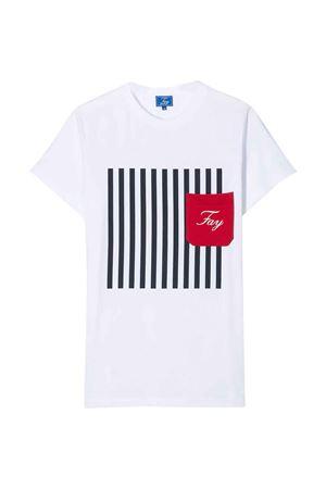 White t-shirt Fay kids teen  FAY KIDS | 8 | 5M8111MX040100T