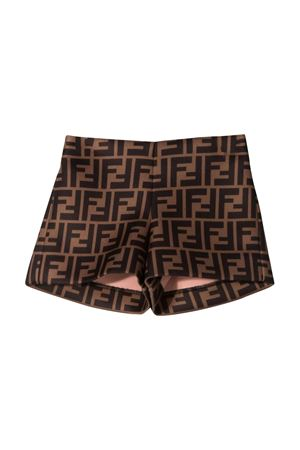 Brown shorts Fendi kids  FENDI KIDS | 30 | BFF126A8LGF0E0X