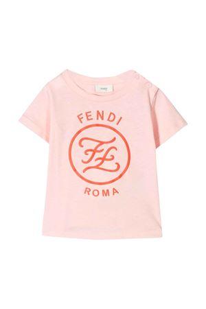 T-shirt rosa Fendi kids FENDI KIDS | 8 | BFI1127AJF16WG