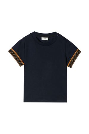Blue T-shirt Fendi  kids  FENDI KIDS | 8 | BMI2007AJF0QB0