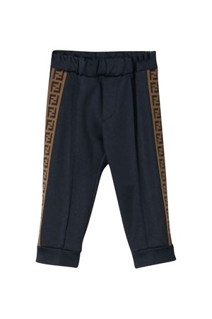 Blue trousers Fendi kids  FENDI KIDS | 9 | BUF022A69DF0QB0