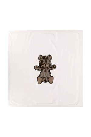 White blanket Fendi kids  FENDI KIDS | 69164127 | BUJ139A3TEF0TU9
