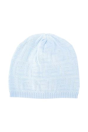 Light blue hat Fendi kids FENDI KIDS | 75988881 | BUP017AACRF19J4