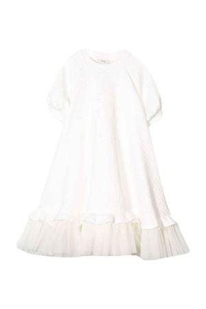 White Fendi kids teen dress  FENDI KIDS | 11 | JFB317A7LNF0TU9T