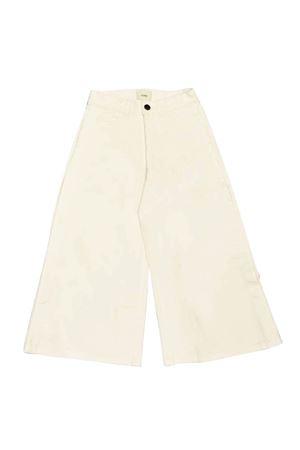 White denim trousers Fendi kids FENDI KIDS | 9 | JFF191AACWF0TU9