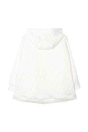 Felpa bianca con trama logata Fendi kids FENDI KIDS | -108764232 | JFH092A7LNF0TU9