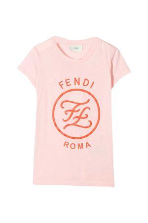 Pink T-shirt Fendi kids teen  FENDI KIDS | 8 | JFI1877AJF16WGT