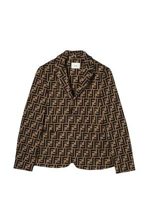 Brown jacket Fendi kids  FENDI KIDS | 3 | JMA184A6A6F0E0X