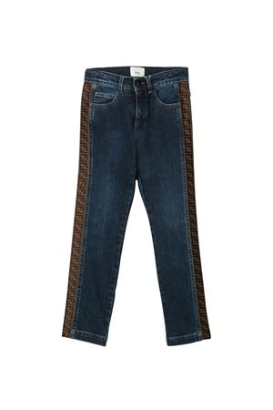 Jeans blu Fendi kids teen FENDI KIDS | 9 | JMF247AAC4F0QB0T