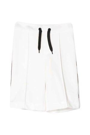 Bermuda bianco Fendi kids con lacci e bande laterali logate. 100% cotone FENDI KIDS | 5 | JMF252A69DF0TU9