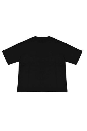 T-shirt nera con trama logata Fendi kids FENDI KIDS | 8 | JMI3037AJF0QA1