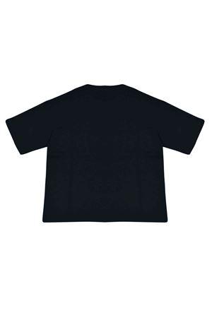 T-shirt blu notte con trama logata Fendi kids FENDI KIDS | 8 | JMI3037AJF0QB0