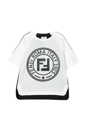 T-shirt bianca Fendi kids teen FENDI KIDS | 8 | JMI3127AJF0TW8T