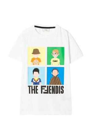 White t-shirt  Fendi kids  FENDI KIDS | 8 | JMI3157AJF0TU9