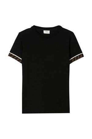 Black t-shirt Fendi kids  FENDI KIDS | 8 | JMI3237AJF0QA1
