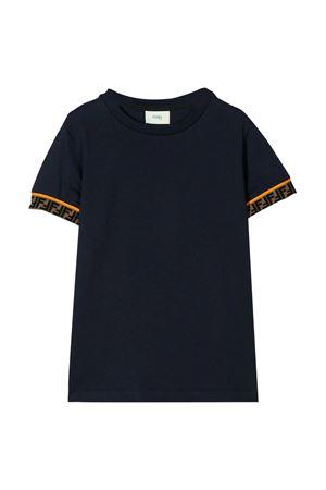 Blue navy t-shirt Fendi kids  FENDI KIDS | 8 | JMI3237AJF0QB0