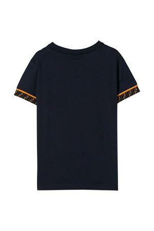 T-shirt blu navy Fendi kids FENDI KIDS | 8 | JMI3237AJF0QB0