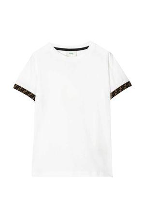 White t-shirt Fendi kids  FENDI KIDS | 8 | JMI3237AJF0TU9