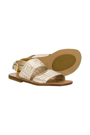 Gold sandals Fendi kids  FENDI KIDS | 12 | JMR309AAE3F12KR