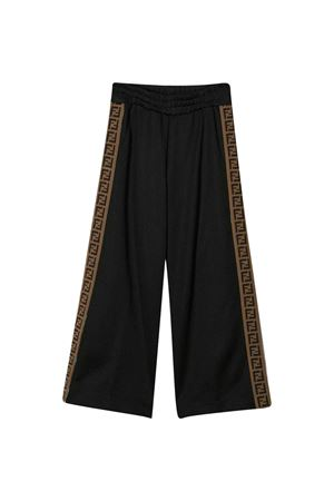 Black trousers Fendi kids FENDI KIDS | 9 | JUF015A69DF0ZE7