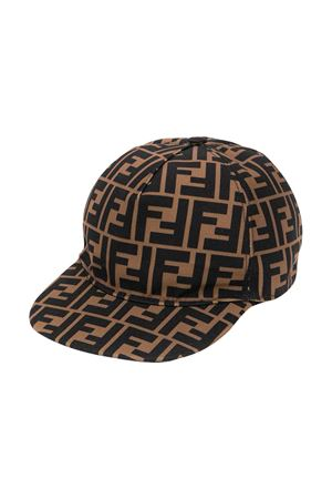 Brown hat Fendi kids  FENDI KIDS | 75988881 | JUP004AAPVF15B6