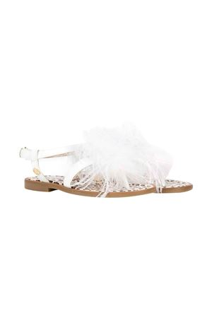 White sandals Florens kids  FLORENS KIDS | 12 | F96531/4