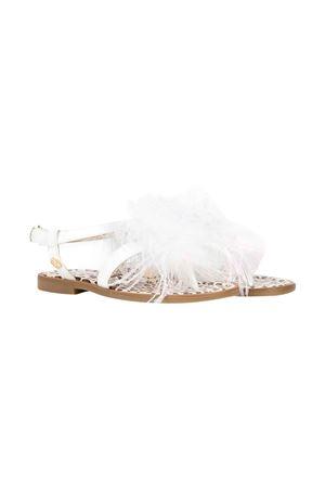 White sandals Florens kids teen  FLORENS KIDS | 12 | F96531/4T