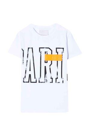 T-shirt bianca Gaelle kids Gaelle | 8 | 2736M0005BBIANCO/ARANCIOFLUO