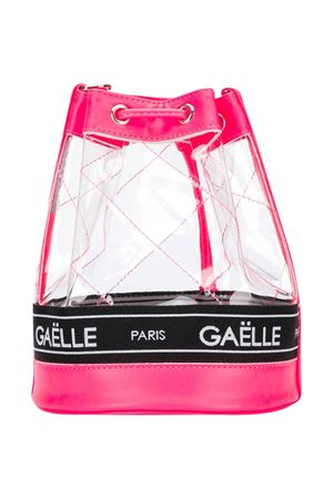 Fuchsia Gaelle kids transparent backpack Gaelle | 31 | 2746BAG0305FUXIAFLUO