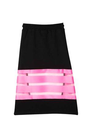 Black and fuchsia skirt Gaelle kids  Gaelle   15   2746G0117NERO/FUXIAFLUO