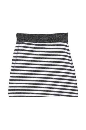 Striped skirt Gaelle kids teen  Gaelle   15   2746G0263NERO/BIANCOT