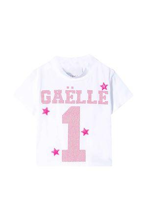 T-shirt bianca Gaelle kids Gaelle | 8 | 2746M0123BIANCO/FUXIAFLUO
