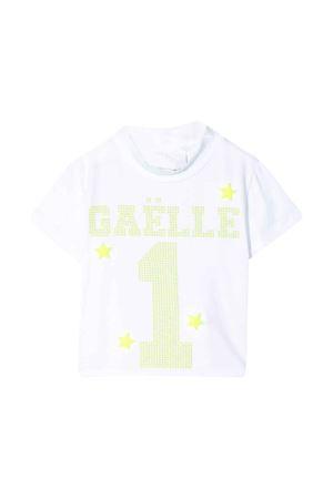 T-shirt bianca Gaelle kids Gaelle | 8 | 2746M0123BIANCO/GIALLOFLUO
