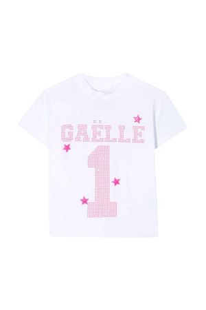 T-shirt bianca Gaelle kids teen Gaelle | 8 | 2746M0123BIANCOFUXIAFLUOT