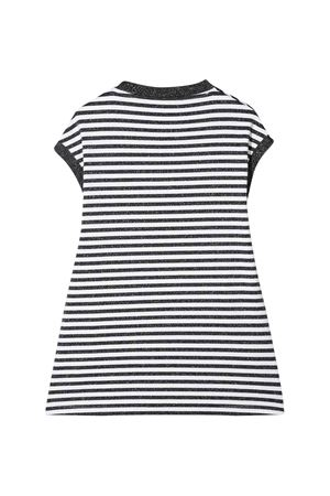 Gaelle kids striped dress  Gaelle   11   2746V0256NERO/BIANCO