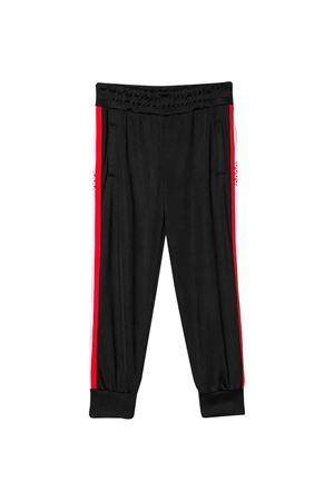 Black teen trousers with side band GCDS kids GCDS KIDS | 9 | 022497110T