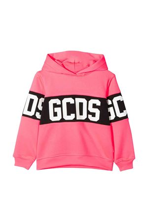 GCDS kids fluo pink sweatshirt  GCDS KIDS | -108764232 | 022507FL134