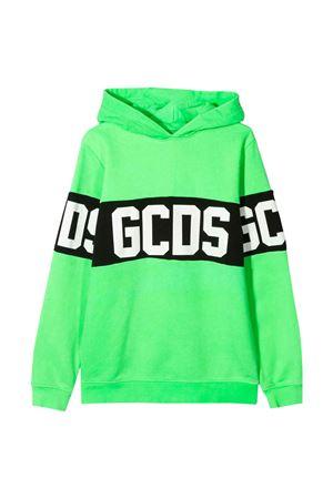 Felpa verde fluo GCDS kids GCDS KIDS | -108764232 | 022507FL169