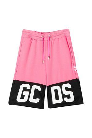 Shorts fucsia con banda nera GCDS kids GCDS KIDS | 30 | 022510134