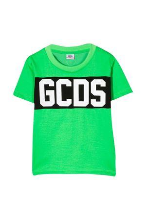 T-shirt verde fluo GCDS KIDS GCDS KIDS | 8 | 022513FL169