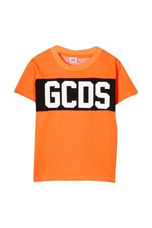 GCDS KIDS fluorescent orange t-shirt  GCDS KIDS | 8 | 022513FL176